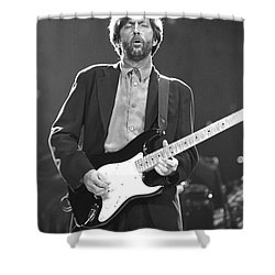 Eric Clapton Shower Curtain by Concert Photos