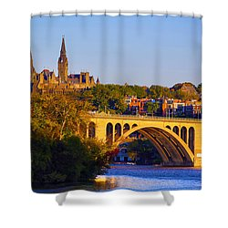 Georgetown Shower Curtain by Mitch Cat