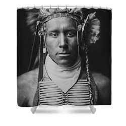 Indian Of North America Circa 1905 Shower Curtain by Aged Pixel