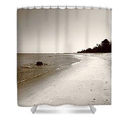 Lake Huron Shower Curtain by Frank Romeo