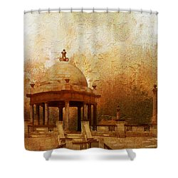 Makli Hill Shower Curtain by Catf