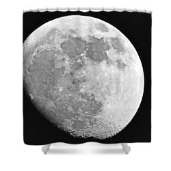 Man In The Moon Shower Curtain by Tom Gari Gallery-Three-Photography