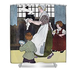 Mother Goose, 1916 Shower Curtain by Granger