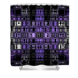 Motility Series 21 Shower Curtain by J D Owen