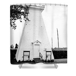 Niagara On The Lake Lighthouse Shower Curtain by Scott Pellegrin