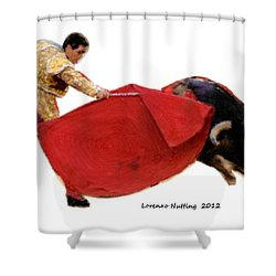 Ole Shower Curtain by Bruce Nutting