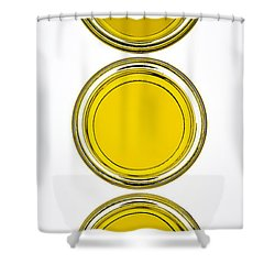 Olive Oil Shower Curtain by Frank Tschakert