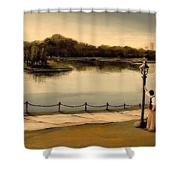 Reflections Shower Curtain by Diane Strain