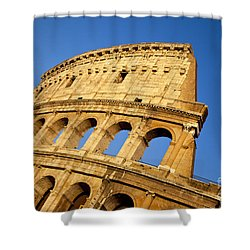Roman Coliseum Shower Curtain by Brian Jannsen