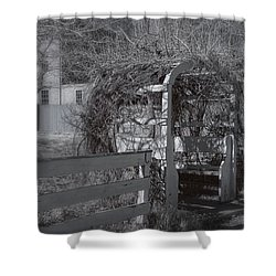 Strawbery Banke  Shower Curtain by Joann Vitali