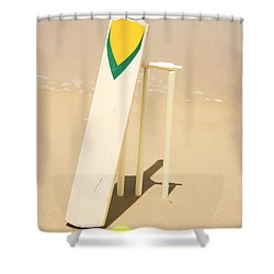 Summer Sport Shower Curtain by Jorgo Photography - Wall Art Gallery