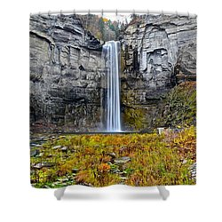 Taughannock Falls Shower Curtain by Frozen in Time Fine Art Photography
