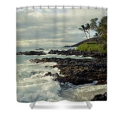 The Sea Shower Curtain by Sharon Mau