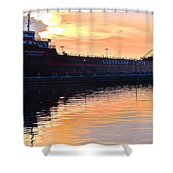 William G Mather Shower Curtain by Frozen in Time Fine Art Photography