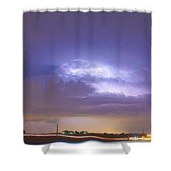 25 To 34 Intra-cloud Lightning Thunderstorm Shower Curtain by James BO  Insogna