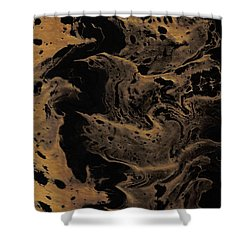 Abstract 24 Shower Curtain by J D Owen