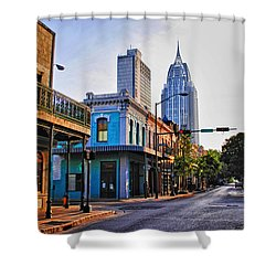 3 Georges Shower Curtain by Michael Thomas