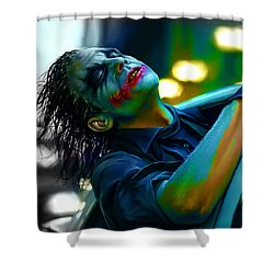 Heath Ledger Shower Curtain by Marvin Blaine