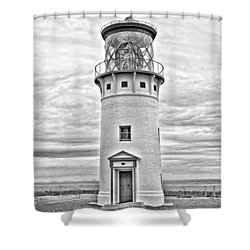 Kilauea Lighthouse Shower Curtain by Scott Pellegrin