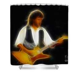 38 Special-94-jeff-gc25-fractal Shower Curtain by Gary Gingrich Galleries