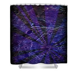 Abstract 95 Shower Curtain by J D Owen