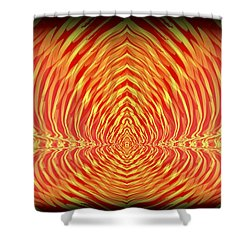 Abstract 98 Shower Curtain by J D Owen
