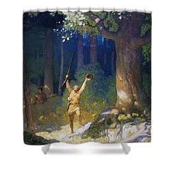 Cooper: Deerslayer, 1925 Shower Curtain by Granger