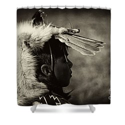 4 - Feathers Shower Curtain by Paul W Faust -  Impressions of Light