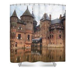 Kasteel De Haar Shower Curtain by Joana Kruse