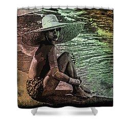 Rihanna Shower Curtain by Svelby Art