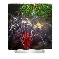 4th Of July Through The Lens Baby Shower Curtain by Scott Campbell