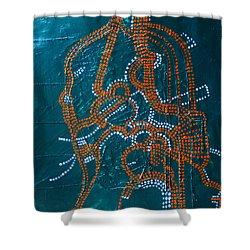 Dinka - South Sudan Shower Curtain by Gloria Ssali