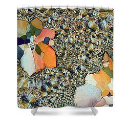 Ocean Jasper Shower Curtain by Bernardo Cesare