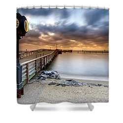 602 Am Shower Curtain by Edward Kreis