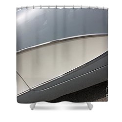 61 Corvette-grey-sidepanel-9244 Shower Curtain by Gary Gingrich Galleries