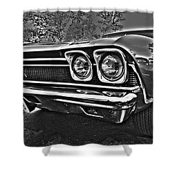 68 Chevelle Shower Curtain by Cheryl Young