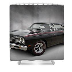 '69 Roadrunner Shower Curtain by Douglas Pittman
