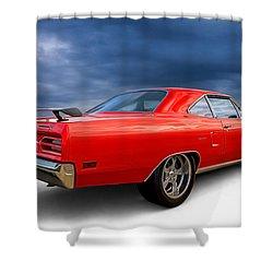 '70 Roadrunner Shower Curtain by Douglas Pittman