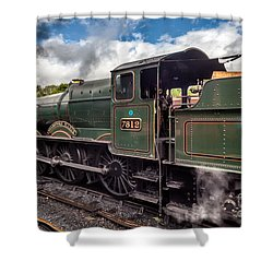 7812 Erlestoke Manor Shower Curtain by Adrian Evans