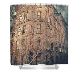 7th Floor Shower Curtain by Taylan Apukovska