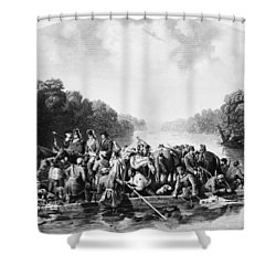 Francis Marion (1732?-1795) Shower Curtain by Granger
