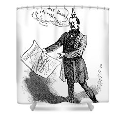 Prince Otto Von Bismarck  Shower Curtain by Granger
