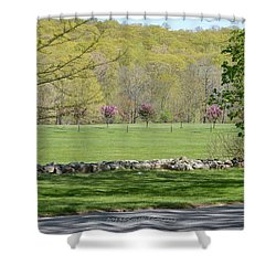 A Beautiful Landscape Shower Curtain by Sonali Gangane
