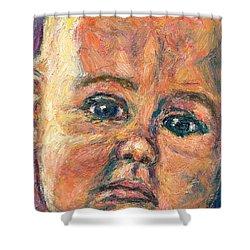 A Beginning Shower Curtain by Kendall Kessler