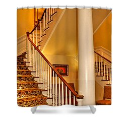A Bit Of Southern Style Shower Curtain by Kathy Baccari