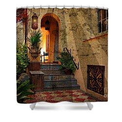 A Charleston Garden Shower Curtain by Kathy Baccari