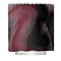 A Craft At Landing Shower Curtain by James Barnes