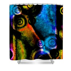A Drop In The Puddle 2 Shower Curtain by Angelina Vick