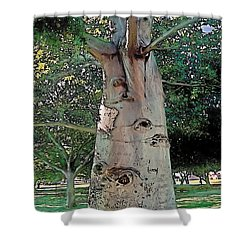 A Lifetime Of Scars Shower Curtain by Terry Reynoldson