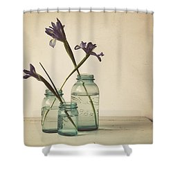 A Little Bit Country Shower Curtain by Amy Weiss